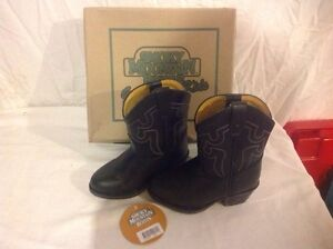Toddler leather cowboy boots
