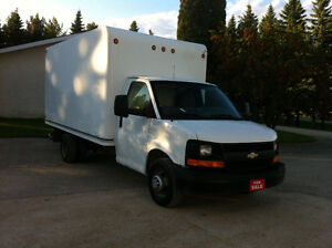 2010 CHEV EXPRESS 3500 CUBE VAN   REDUCED SALE PRICE