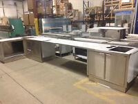 Stainless Steel Cabinet & Countertop * DIRECT FROM MANUFACTURER