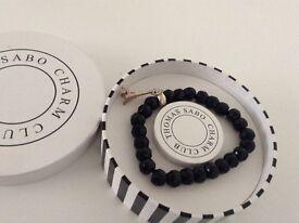 Thomas Sabo Black Charm Bracelet