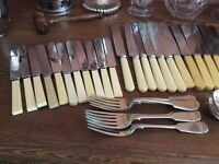 Lovely Antique good quality cutlery