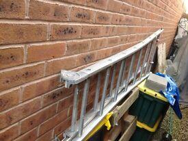 Multi purpose Aluminium extending ladder