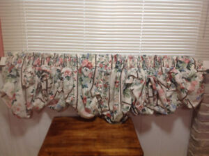 Window Toppers and Curtain Rods