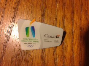 2010 VANCOUVER WINTER OLYMPICS TORCH RELAY SOUVENIR PIN