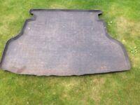 Toyota Avensis hatchback boot mat