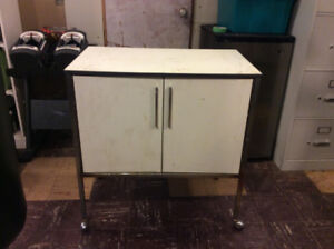2 Rolling Cabinets $30 for the pair