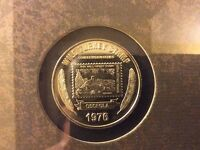FRAMED COIN STAMP COLLECTION 1976-2005 NWTF