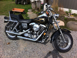 1995 Harley Davidson FXDWG Dyna Wide Glide Fat Bob Custom Bike