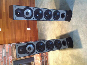 Paradigm monitor 11 V.3 tower speakers