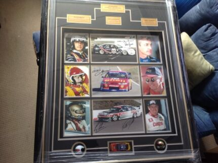 1 of a kind V8 Supercar signed memorabilia  Wollongong 2500 Wollongong Area Preview