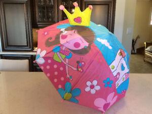 Parapluie princesse enfant