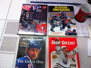 Oilers & Gretzky NHL Hockey Books - Coca cola 21 team pin set