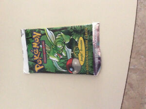 Pokeman Jungle Booster Pack -1st Edition English- Factory Sealed