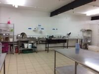 To Let 2 x 400sq ft Commercial Kitchens available