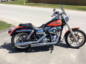 Harley Davidson Dyna lowrider 96 cubic inches 2008 FXDL