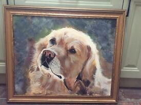 Original oil painting by P. Tidwell