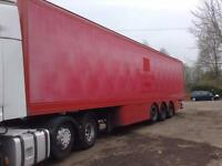 CARTWRIHGT TRI AXLE BOX TRAILER