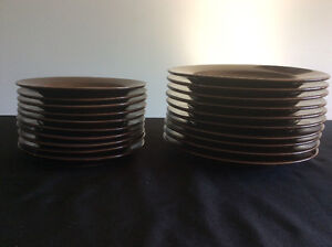 Chocolate Brown Pier 1 Dishes