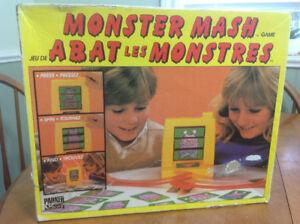 Vintage monster mash game
