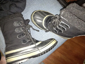 Mens size 7 Sorel winter boots for sale