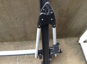 Thule double bike roof rack system