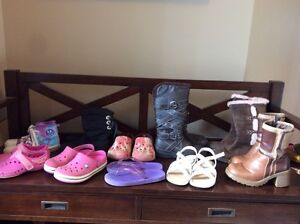 Girls shoe lot size 12 to 1