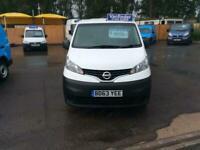2013 Nissan NV200 1.5 dCi Acenta Van CAR DERIVED VAN Diesel Manual