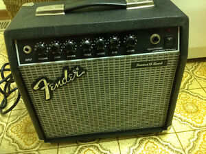 Small fender guitar amp , good shape , only 55 dollars