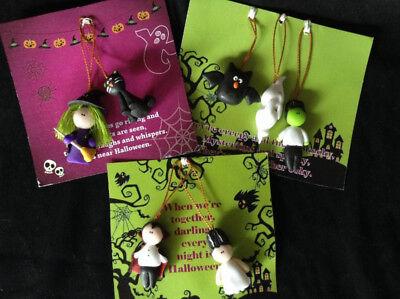 Halloween Marzipan Ornaments from Colombia - Fair Trade - Marzipan Halloween