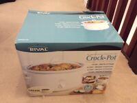 For sale - Rival 3.5l Crock Pot slow cooker