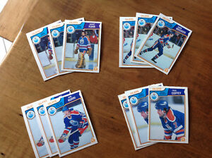 Oilers Dynasty cards