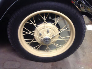 1928 or 1929 Ford Model Tires