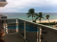 Winter /vaccation Beachfront condo for sale in Ft. Lauderdale