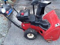 Snow Blower Toro Power Max 1028 LE