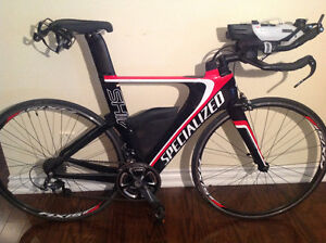 Bike: Specialized Shiv Expert Ultegra Carbon /White / Red Size S