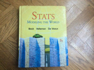STATS,  MODELING THE WORLD 3rd Edition