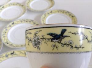 Antique Bone China Tea Set – Made in England