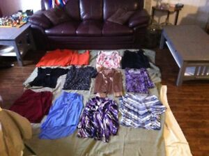 Assorted Woman's Dress & Casual Tops (sizes M-L (12-16))