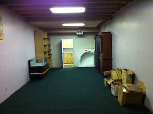 large affordable space for rent