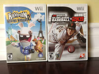 2 Excellent Condition Wii Games!!!