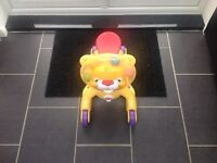 Baby ride on activity toy