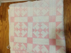 Antique hand made quilt for sale London Ontario image 1