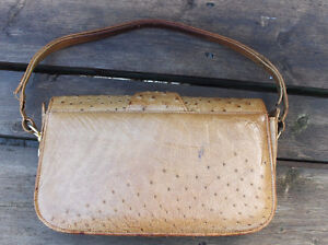 Vintage OSTRICH leather purse, by CORBEAU, from South Africa, Peterborough Peterborough Area image 4