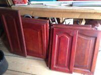 Solid oak Kitchen doors/drawers