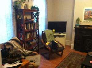 Beautiful, central 2-bedroom flat for Sept 1 -- need roommate