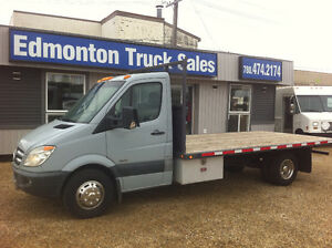 2010 Mercedes-Benz Sprinter FLAT DECK DUALLY DIESEL