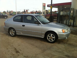 2002 Hyundai Accent Coupe - for parts or repair