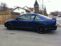 2001 Honda Civic lx Coupe (2 door)