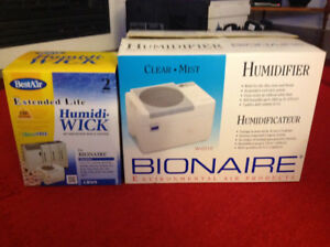 Bionaire Cool Mist Humidifier with 3 New Filters
