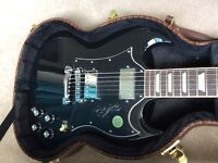 Brand new Boxed Gibson SG Standard Including Gig bag and Brand new Hard case!